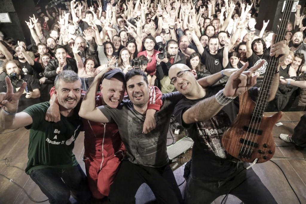 Fotografía de Los Reconoces en su despedida en noviembre de 2014