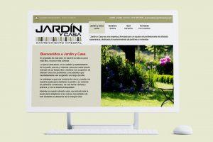 Jardín y casa